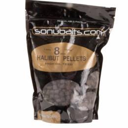 Spicy sousage halibut pellet