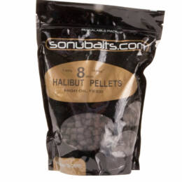 Spicy sousage halibut pellet